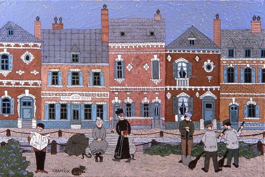 Granick peinture na ve maisons du nord for Maison du nord